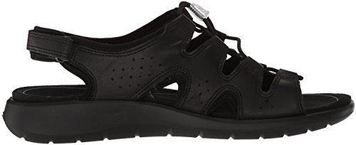 ECCO Womens Soft 5 Toggle Sneaker Black PPBx21