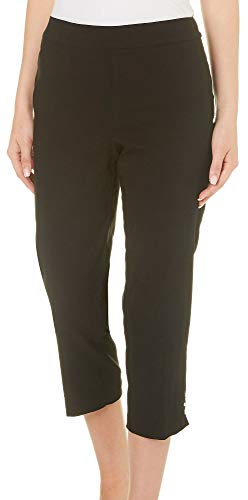 Counterparts Womens Pull On 3-Rivet Capris 16 ()