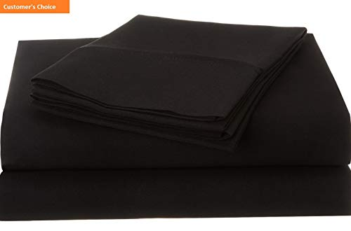 Foam Cutter 1500 Board - Mikash New Soft 1500 Series Premium Quality 100% Brushed Soft Microfiber 3-Piece Luxury Deep Pocket Cooling Bed Sheet Set, Hypoallergenic, Wrinkle and Stain Resistant - Twin XL, Black | Style 84600534