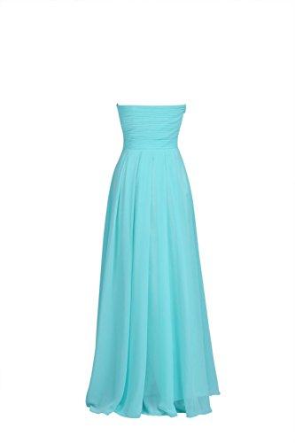 YiYaDawn Langes Elegantes Brautjungfernkleid Ballkleid für Damen Lavendel ocBlM