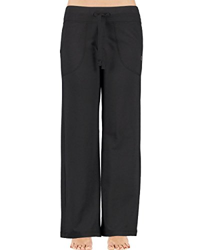 - Balance Collection - Women's - Solid Black Logo Sweatpants - Pockets (X-Small)