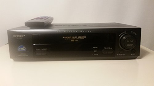 Sharp VC-H982U Video Cassette Recorder Player VCR VHS 4 Head HiFi Stereo Sharp Super Picture
