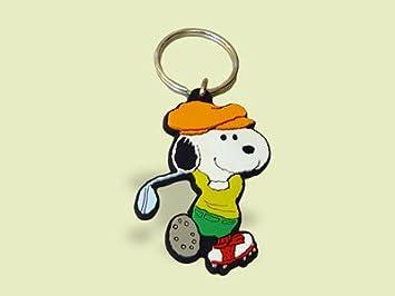 Schleich 22391 - Llavero de Snoopy jugando al golf: Amazon ...