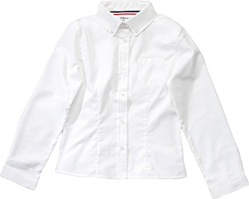 French Toast Sleeves Button Oxford