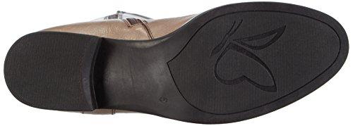 Caprice 25615 - Botas de cuero para mujer marrón - Braun (TAUPE 341)