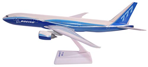 (Boeing Demo (04-Cur) 777-200 Airplane Miniature Model Plastic Snap Fit 1:200 Part# ABO-77720H-029)