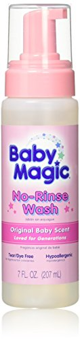 (Baby Magic No-Rinse Wash 7 Ounce Original Baby Scent (207ml) (3 Pack))