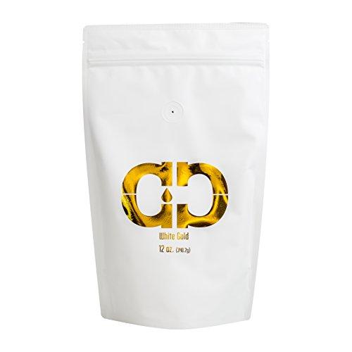 Caveman Coffee White Gold Roast, Columbia Single Origin, Certified Paleo, Chlorogenic Acid, Anti-Inflammatory, Fat Loss, Fair Trade, Whole Bean, 12 oz