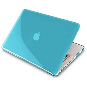 "i-Blason Matte Shell Case Cover for New Macbook Pro Retina Display (2012 June Release) 15 inch 15.4"" Ultra Slim (Blue)"