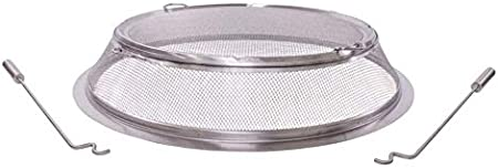 Solo Stove Stainless Steel Yukon Fire Pit Spark Screen with guilds Shield Protector Mesh Protective Spark Screen for Backyard and Outdoor fire pits Stops Hot Embers