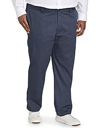 Amazon Essentials Pantalón chino de corte atlético resistente a las arrugas con frente plano. Pantalones casuales para Hombre