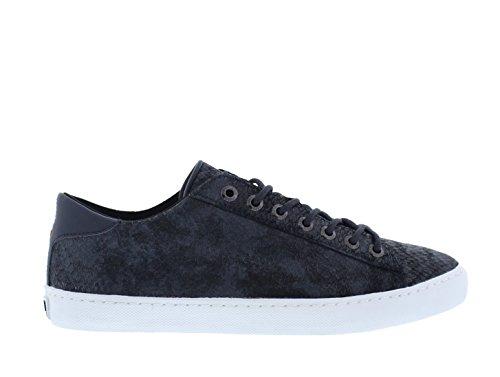 Hub Court - Sneakers de mujer, color D Navy (Azul), talla 36
