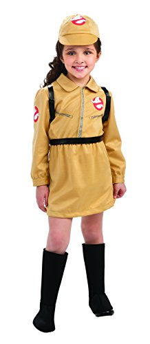 [Rubies Sony Ghostbusters Girl Child Costume, Medium, One Color] (Ghostbuster Costume Backpack)