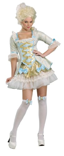Secret Wishes Women's Lady Of Versailles Adult Costume, Multicolor, X-Small (Bo Peep Costume For Adults)