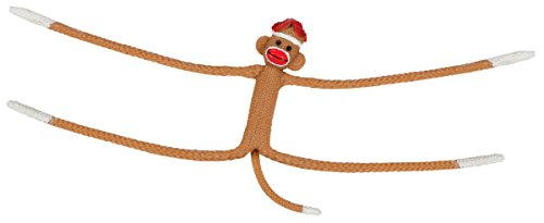 Toysmith Stretchy Sock Monkey 6