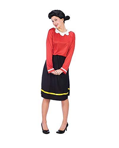 Holiday Catalog Popeye's Olive OYL Costume - Adult Small (4-6) ()