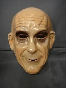THE ADDAMS FAMILY UNCLE FESTER HALLOWEEN MASK PVC ()
