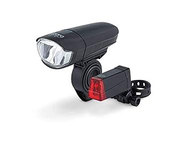 Fahrrad Beleuchtung Set StVZO Batterien Scheinwerfer Rückleuchte Fahrradlampe Radsport Fahrradzubehör