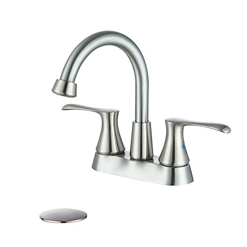 4 inch faucet brushed nickel - 4