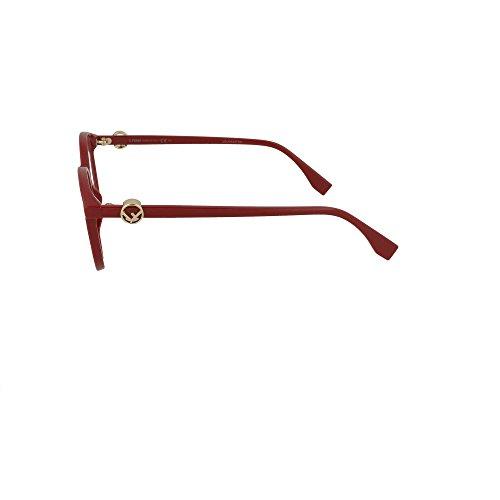 Ff 0299 Rosso Montature red Vista Donna Fendi wxand1Hq1Z