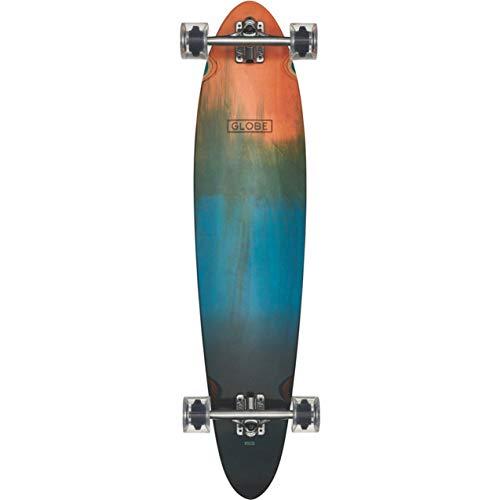Longboard Pinner - GLOBE Skateboards Pinner Classic Longboard Complete Skateboard, Orange Fade Dye