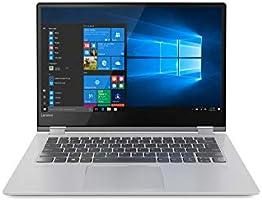 """Lenovo Yoga 530-14ARR - Portátil táctil Convertible de 14"""" HD (Intel Core i3-7020U, 4GB de RAM, 128GB de SSD, Windows 10) Gris - Teclado QWERTY Español"""