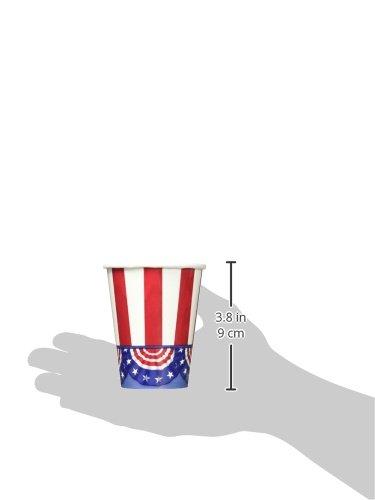 9 oz. 681485 American Pride Party Cups TradeMart Inc 50 Ct
