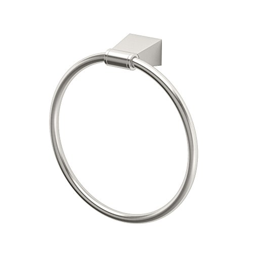 Gatco 4732 Bleu Towel Ring, Satin Nickel - Ring European Towel