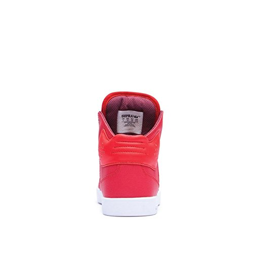 Supra KIDS ATOM Unisex-Kinder Hohe Sneakers Red/White