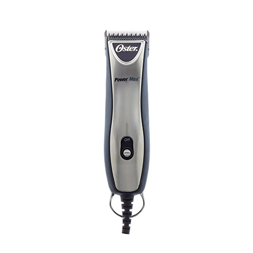 OSTER 78004011 Powermax 2-Speed Clippers, Midnight bluee and Silver