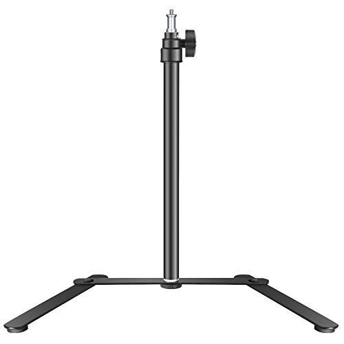 Neewer Tabletop Light Stand Base for LED Panel and Ring Light, 15.4-27 inches Adjustable Support Bracket for Make Up, Selfie, Live Show, Portrait, YouTube Photography Video Shooting, Aluminum Alloy by Neewer