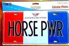 (Novelty Corvette Licnse Plate)