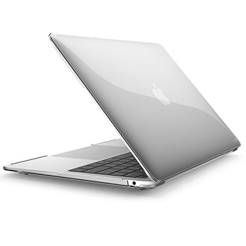 New MacBook Air 13 Inch Case 2018 Release A1932, i-Blason Smooth Matte Frosted Hard Shell Cover for Apple MacBook Air 13 Inch with Retina Display fits Touch ID (Frost)
