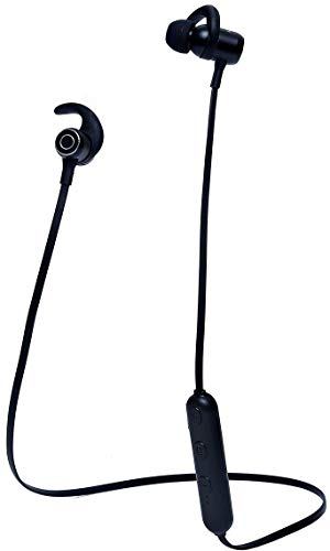Wireless Bluetooth Headphones, Bluetooth 4.2 Best Sport Stereo Headset, Noise Cancelling Rainproof and Sweatproof Earphones, Running Workout 8 Hour Battery Black