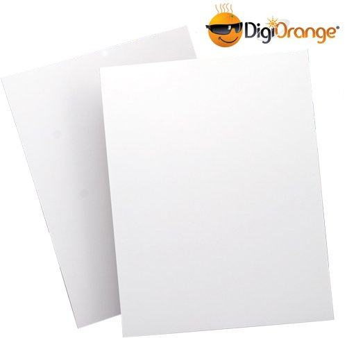 DigiOrange® Full Sheet Labels 300 White Laser & Inkjet Labels