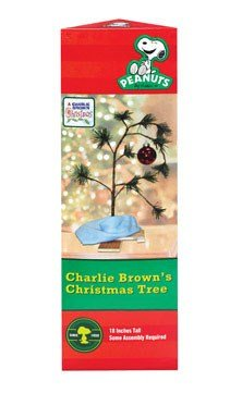 Charlie Brown Christmas Tree with Blanket 24'' Tall (Non-Musical)
