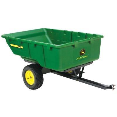 John Deere 1,000 lb. 17 cu. ft. Tow-Behind Poly Utility - Deere Utility John Cart