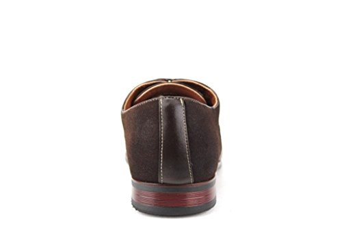 Hommes 19506l Cap Toe Balmoral Oxfords Robe Chaussures Marron Foncé