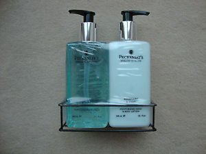 (Pecksniffs Rosemary and Mint Two Piece Set Hand Wash and Body Lotion )