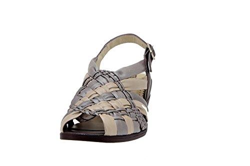 Sandalo Piesanto Scarpa Scarpe Donna plata Pelle Comfort In Umo 2562 Di Larghe Comodità Di Snq0gwH