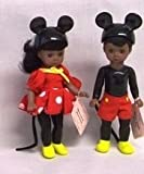 Madame Alexander Mickey and Minnie Dolls African American