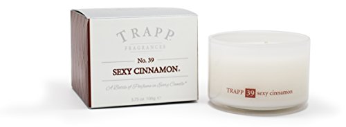 Trapp Ambiance Collection No. 39 Sexy Cinnamon Poured Scented Candle, 3.75-Ounces