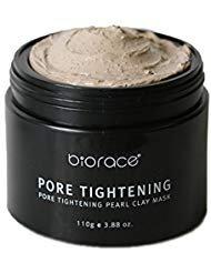 - BIORACE Pore Tightening Pearl Clay Mask 110g/3.88oz Tightens Pores + Sebum Control + Deep Cleanse