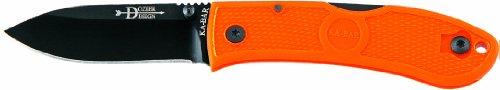 KA-BAR Dozier Folding hunter in blaze orange, Outdoor Stuffs
