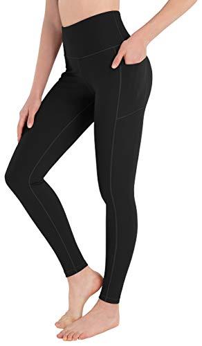 HOFI Women's High Waist Yoga Pants with Pockets Tummy Control Workout Running
