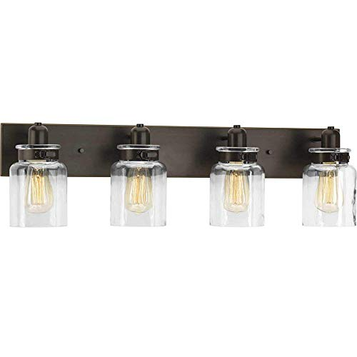 Bathroom Vanity Light Fixture – Bath Interior Lighting (Antique Bronze, 4 – Lights)