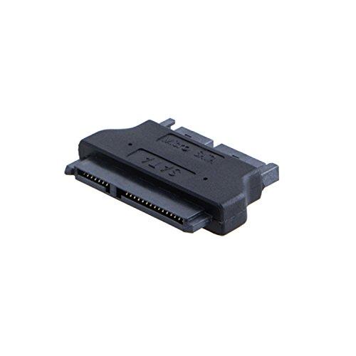 CableCreation SATA 22Pin Female to Micro SATA 16Pin Male Adapter, 16 pin Micro SATA (Male),2.5 Sata 22Pin to 1.8 Micro Sata Male Converter
