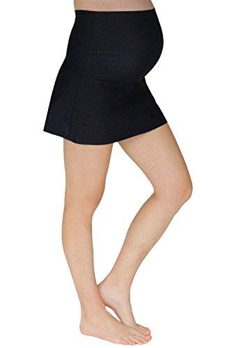 Mermaid Maternity Women's Maternity Swim Skirt With Attached Boyshort - Small