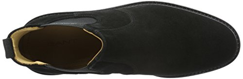 GANT Herren Spencer Chelsea Boots Schwarz (black G00)