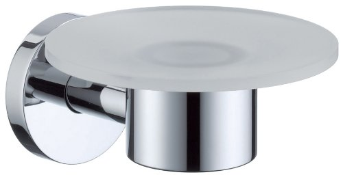 Hansgrohe 40515000 S and E Accessories Soap Dish, Chrome